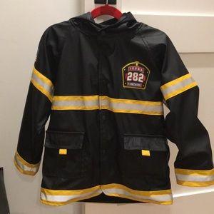 Other - Boys size 5 fireman raincoat.